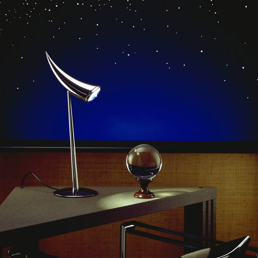 Ara lamp with crystal ball