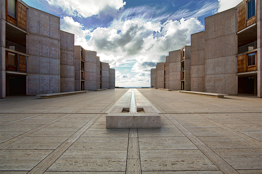 The Salk Institute, La Jolla, CA image courtesy of News Wise